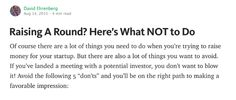 Raising Capital, 5 Things, How To Raise Money, Investors, Fundraising, Reading, Word Reading, Reading Books, Fundraisers
