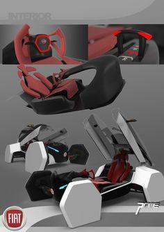 futuristic, 2025 Fiat Sports Pod, future, car, vehicle, innovation, concept, transportation, automobile, Fiat Prime City Car, fantastic, Joshua Shercliff