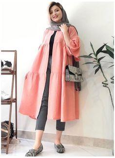 iranian women fashion #iranian #women #fashion #dresses #hijabs iranian women fashion Modesty Fashion, Abaya Fashion, Muslim Fashion, Fashion Drawing Dresses, Women's Fashion Dresses, Teenager Mode, Mode Kimono, New Yorker Mode, Mode Abaya