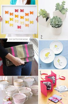 DIY gift ideas for mom, DIY mothers day gift ideas | TheMombot.com #mothersday #diy #gifts
