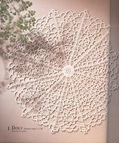 Tatting pattern- flip thru book for visual pattern