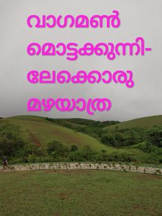 വാഗമൺ മൊട്ടക്കുന്നിലേക്കൊരു മഴയാത്ര. - Lifezshining % Wonderful Places, Beautiful Places, Alcohol Is A Drug, Places To Travel, Real Life, Kerala, Tours, World, Nature