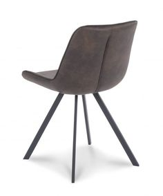 Eetkamerstoel San Francisco - Antraciet - Lok Living Dining Chairs, Milwaukee, Moodboards, Furniture, Denver, Detroit, Phoenix, Atlanta, San Francisco