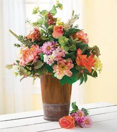 #DIY Spring Floral Arrangement