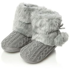 Image result for grey slipper boots