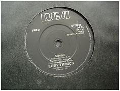 At £4.20  http://www.ebay.co.uk/itm/Eurythmics-Shame-RCA-Records-7-Single-DA-14-/251151467483