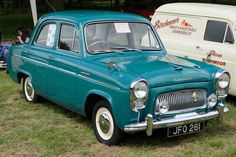 Trentham Gardens Classic Car Show Classic Cars British, Ford Classic Cars, Classic Trucks, Retro Cars, Vintage Cars, Antique Cars, Ford Anglia, Cars Uk, Old Fords