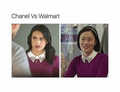 What the hell? courtney is seriously getting on y nerves. I mean why the hell is she wearing the same as Veronica. BTW Veronica looks way better in it!