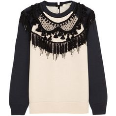 Marc Jacobs Embellished jersey sweatshirt