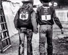 rodeo couple...I hope im a barrel racer and hes a bull rider or roper (which wont hurt me or him as bad)
