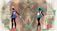 Sailor Uranus & Sailor Neptune - SM Crystal III title cards