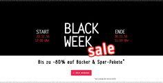 Banner neu: Black Week Sale