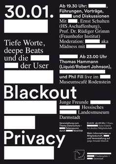 arndt benedikt - typo/graphic posters