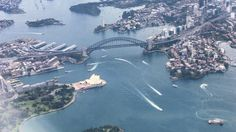My final shot of #Sydney (until next year) the iconic #harbour area including the #Bridge ##Sydney #Australia from the air. This #photo was taken from a #Qantas #aeroplane that had just taken off en-route to Brisbane. #NSW #harbour #bridge #OperaHouse #CBD #skyscraper #landscape #view #stunning #amazing #beautiful #city #urban #travel #tourism #tourist #adventure #explore #seetheworld OperaHouse #CircularQuay & #Kirribilli. This #photo was taken from a #Qantas #aeroplane that had just taken…
