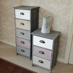 Multi Coloured Drawers