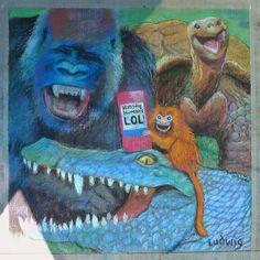 LUDstuff!: Chalk Art