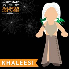 #Halloween is right around the corner! Have you thought about your costume yet? Maybe #Khaleesi is your style? Check out how to create her costume +250 more DIY Halloween Costumes on our blog: ecampusdot.com/1MUKey7