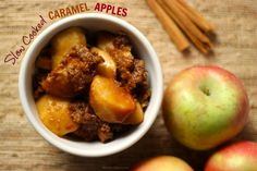 Slow Cooked #CaramelApples