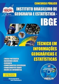 IBGE-TÉCNICO EM INFORMAÇÕES GEOGRÁFICAS E ESTATÍSTICAS