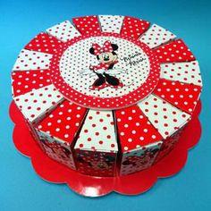 """Torta Bomboniera con Minnie Mouse Disney. Torte Bomboniere realizzate da """"Ore Liete - La Bomboniera Italiana"""""""