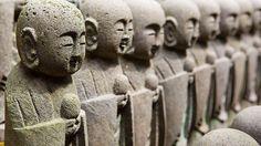 Fukuju Jizo stone statues in Hase-dera : Kamakura, Japan / Japón | Flickr - Photo Sharing!