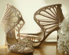 Featured Photographer: Binaryflips Photography; Wedding shoes idea.