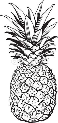 Comment Dessiner Un Ananas Tape Par Tape Tutoriels De