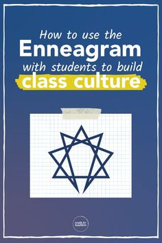 Building a classroom is so much more than desk formations and pretty bulletin boards. It is cultivating strong relationships with your students and learning the nuances of their personalities to help them learn and grow. The Enneagram is a helpful way to get to know your students so that you can create the best learning environment possible. Classroom Routines, Classroom Management Strategies, Classroom Procedures, Teaching Strategies, Teaching Tips, School Resources, Teacher Resources, Enneagram Test, Cult Of Pedagogy