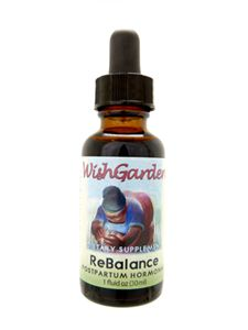 Cascade HealthCare Products carries WishGarden ReBalance Postpartum Hormonal Tincture for reintegration support & hormone balancing for new mothers. Lovingly made to support healthy hormone levels & well-being after birth.