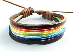 color wax, leather color, wax rope, brown leather, colors, rope adjust, adjust charm, jewelri, leather bracelets