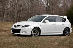 My old pride and joy, 2008.5 Mazdaspeed3.  I hope your new owner loves you as much as I did.