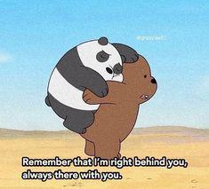 in my heart 😢❤️ Cute Panda Wallpaper, Bear Wallpaper, Cute Disney Wallpaper, Cute Wallpaper Backgrounds, We Bare Bears Wallpapers, Panda Wallpapers, Cute Cartoon Wallpapers, Ice Bear We Bare Bears, We Bear