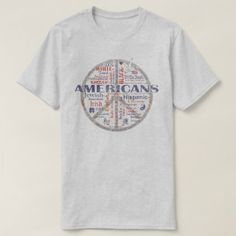 Americans We The People Vintage T-Shirt - family gifts love personalize gift ideas diy