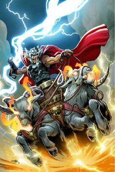Thor by Valerio Schiti