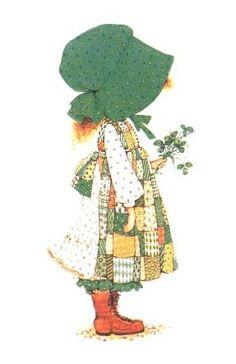 Holly Hobbie green