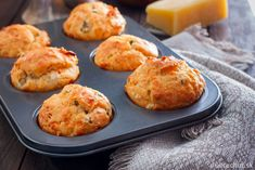 Ham and Vegetable Muffins I'm a big fan of muffins. These Ham and Vegetable Muffins are so versatile – they are good for toddlers, school kids, Mum's and Dad's Chorizo, Savory Muffins, Savory Snacks, Lunch Box Recipes, Breakfast Recipes, Homemade Crumpets, Vegetable Muffins, Healthy Sour Cream, Sauce Pizza
