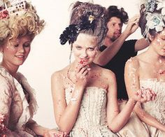 FOOD FIGHT ROCOCO STYLE