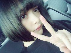 Embedded Cute Japanese Girl, Woman Face, Korean Actors, New Hair, Hair Inspiration, Cute Girls, Asian Girl, Beautiful People, Hair Cuts