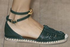 Fashion week runway: Valentino SS14 Shoes Back To Vintage