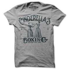 Cinderella Boxing Mens Tee Gray now featured on Fab.