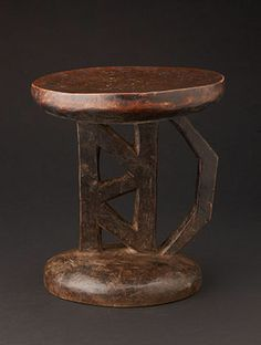 """12.25"""" x 10.75"""" diameter These old traditional Tonga stools were used only by men. Women were not allowed to sit on the stools. Men would ca..."""