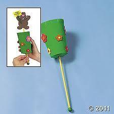 Pop-Up Groundhog Craft Kit Preschool Groundhog, Groundhog Day Activities, Kindergarten Activities, Craft Activities, Preschool Crafts, Preschool Winter, Preschool Ideas, Craft Ideas, Winter Fun