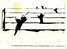 Międzynarodowy Konkurs  XI th International Chopin Piano Competition T.Szulecki 1985