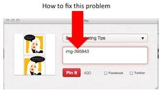 Pinterest Tutorial: How To Fix Your Pinterest Picture Problem ~ If you're still uploading images to #Pinterest that have no description attached, read and follow these instructions from @Tom Treanor #tips #howto