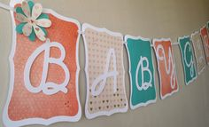 Hey, I found this really awesome Etsy listing at https://www.etsy.com/listing/200418750/vintage-baby-girl-baby-shower-banner-in