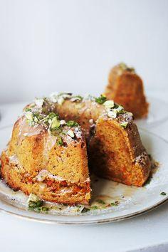 Apfel-Karotten-Nuss Kuchen (Vegan & glutenfrei)