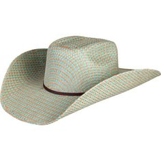 b3a18dd8f05 Turquoise Jute Brick Crease - Rodeo King Womens Western Hats