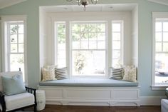 IG - we both really like this one.  But aain would like full panes of glass  square bay window seat - Google Search