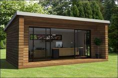 Voici un concept d'extension de maison assemblée en seulement deux jours. Finis les chantiers qui durent des semaines, voici un exemple d'extensions pré-fabriquées en ossature bois.