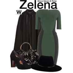 Inspired by Rebecca Mader as Zelena on Once Upon  A Time.
